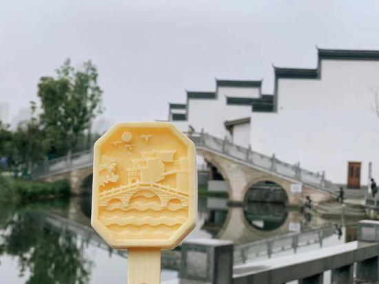 Scenic spots in ice cream competition to attract tourists