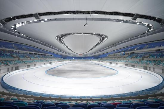 The National Speed Skating Oval, locally known as the