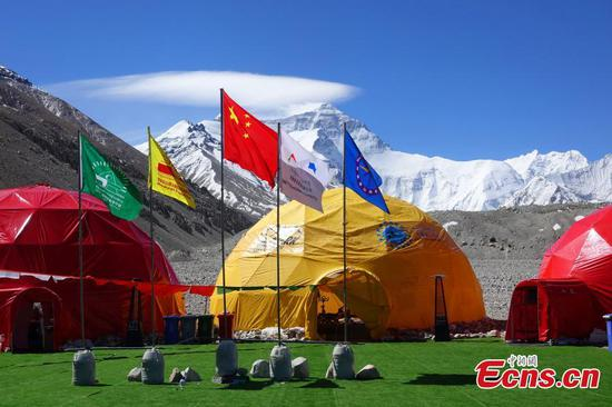 Base Camp on north slope of Mt. Qomolangma not affected by COVID-19