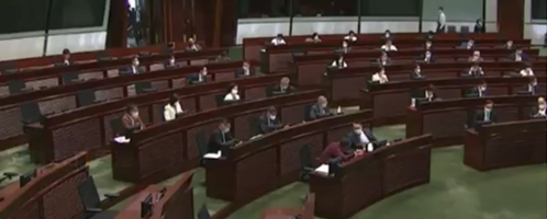 Hong Kong passes bill requiring district councilors to take oaths