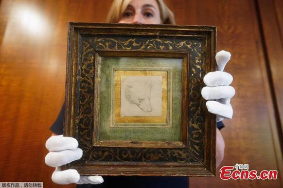 Da Vinci's 'Head of Bear' expected to fetch new record price