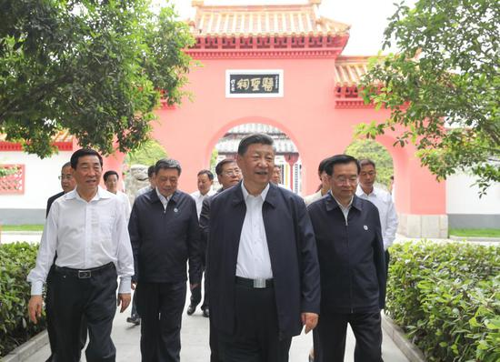 Xi inspects central Chinese city Nanyang