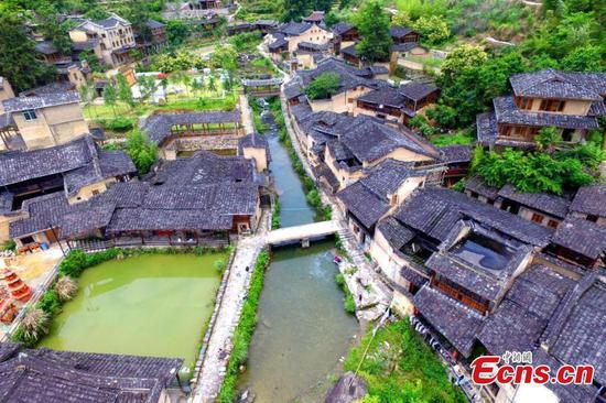 Historic village in Fujian takes on new look