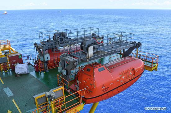 'Deep Sea No.1' energy station at gas field off S China's Hainan