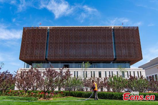 China Arts and Crafts Museum's new facade unveiled