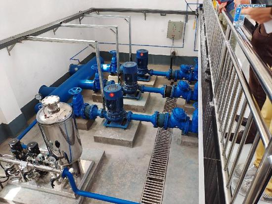 Safe drinking water project benefits residents in Jiashi County, Xinjiang