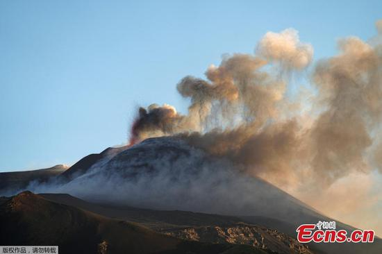 Mount Etna spews smoke and lava in new eruption