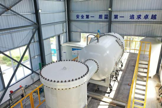 China launches electron beam device for medical wastewater disposal