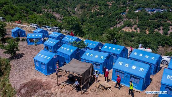 Relief work underway after earthquakes in Yunnan