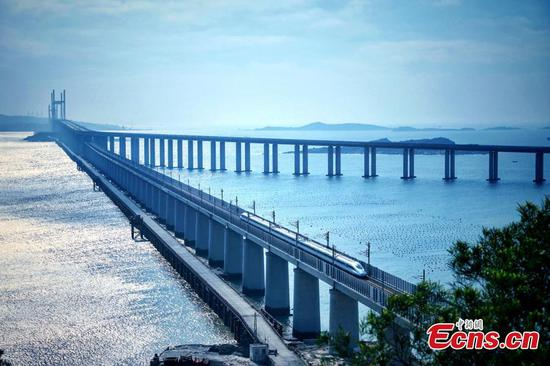 Grand Pingtan Strait Road-rail Bridge: the longest of its kind in the world