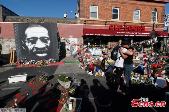 American people gather for First anniversary of George Floyd
