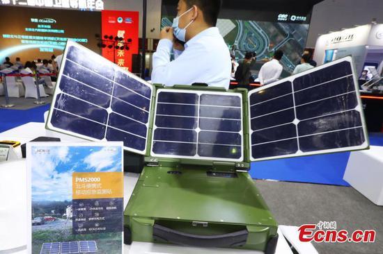 Multiple Beidou satellite navigation applications debut in Jiangxi