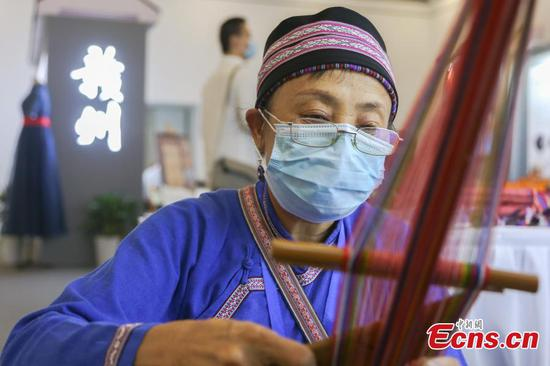 Intangible cultural heritage expo opens in E China's Jiangxi