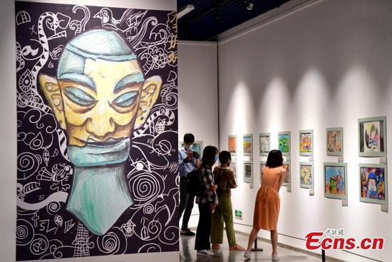 Art exhibition for cross-Strait children held in Fuzhou