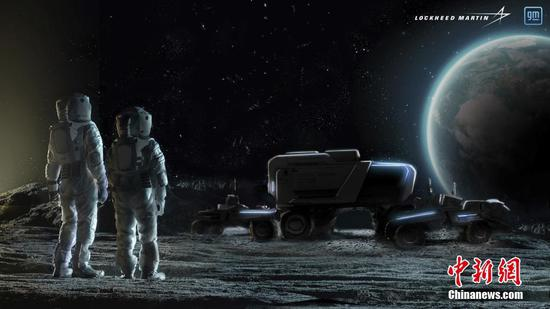 U.S. firms plan to develop manned lunar rover featuring self-driving system