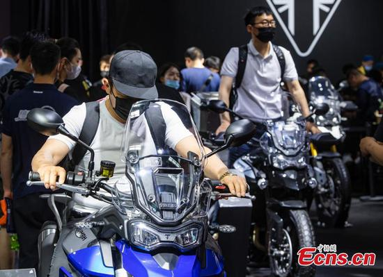 A glimpse of Beijing int'l Motorcycle Expo