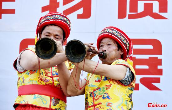 Intangible Cultural Heritage shows performed in Hubei