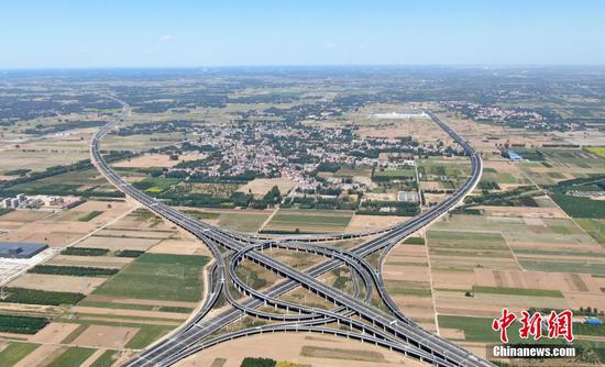 Five expressways in Xiongan open to traffic