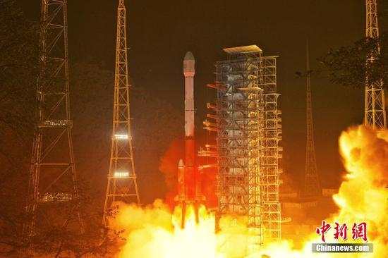 China launches a new meteorological satellite
