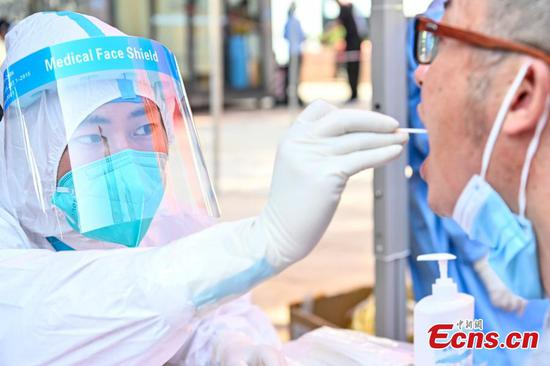 Nansha District in Guangzhou launches nucleic acid testing for all citizens