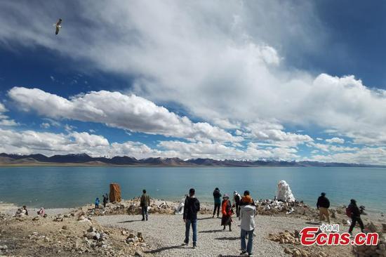 Namtso in Tibet welcomes tourist season