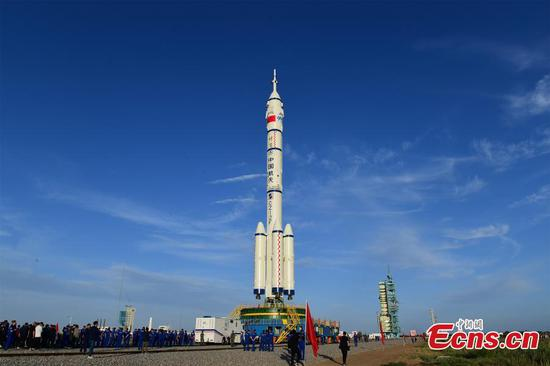 China's Shenzhou-12 spaceship moved to launch pad for manned mission