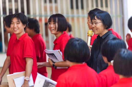 Girls' school principal sends class on new path