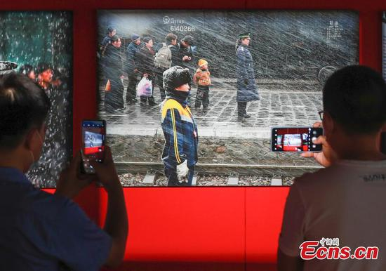 Railway photography exhibition opens in Beijing to celebrate centennial of CPC