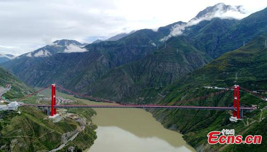 'First Bridge of Sichuan-Tibet' a boon to local people