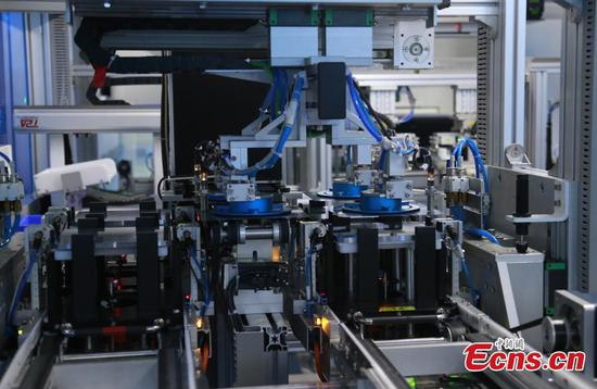 Zoom in: China's first mass producing IBC battery and module line