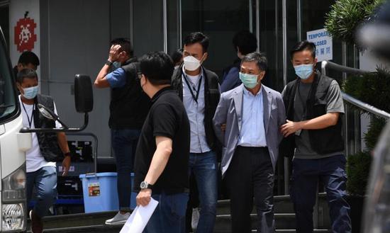 HK political, legal experts back Apple Daily arrests