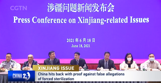 China hits back with proof against false allegations of forced sterilization