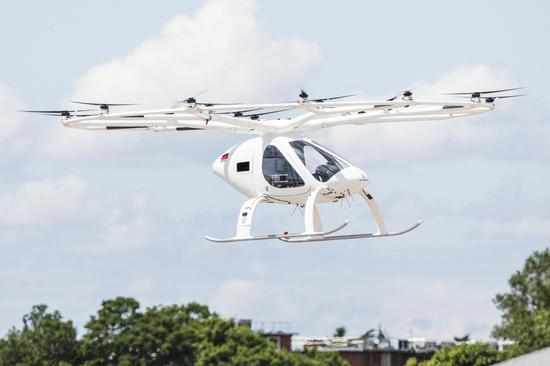 Flying taxis planned for 2024 Olympics in Paris