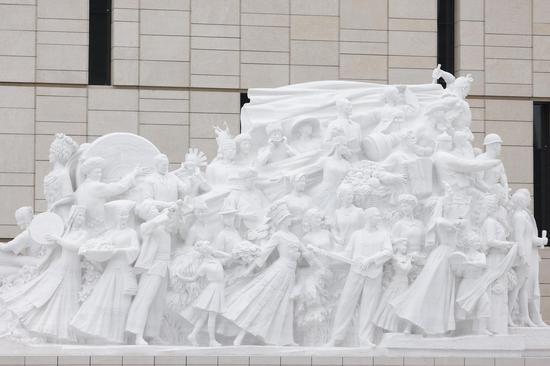 Five art sculptures erected outside CPC Museum