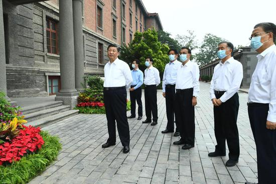 Xi stresses creating new achievements ahead of CPC centenary
