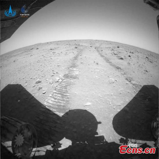 China releases new videos, images from Mars probe Tianwen-1