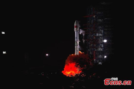 China launches new relay satellite