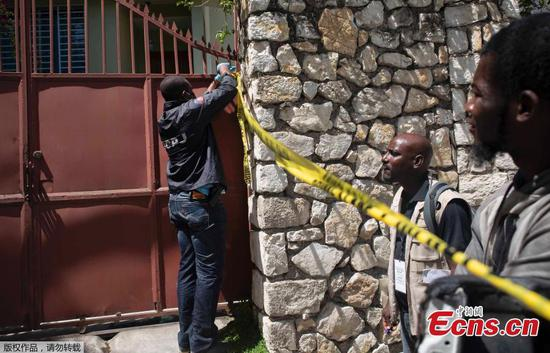 Haiti President assassinated at residence by unknown attackers