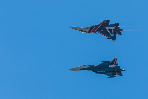 Russian fighters prevent U.S. patrol aircraft from entering Russian airspace