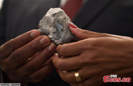 1,174-carat diamond shines Botswana