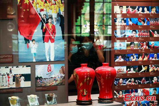 More than 1,200 exhibits unveiled at Shanghai Sports Museum