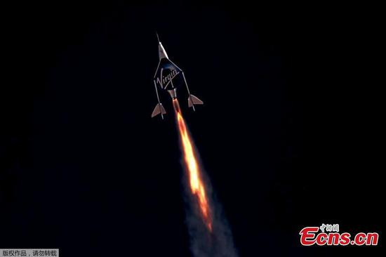 Virgin Galactic founder successfully rockets to outer space