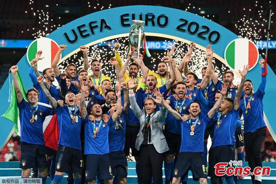 Italy crowned UEFA EURO 2020 champion after beating England on penalties