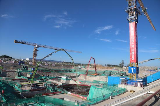 China starts building small nuclear reactor in Hainan