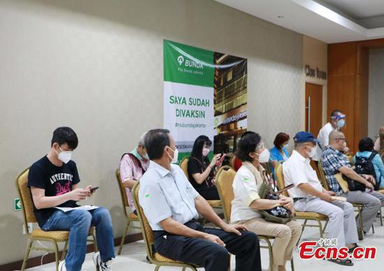 Taiwan compatriots living in Jakarta get Sinopharm vaccination