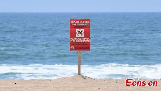 Beaches in Los Angeles closed after 17-mln-gallon sewage leaked