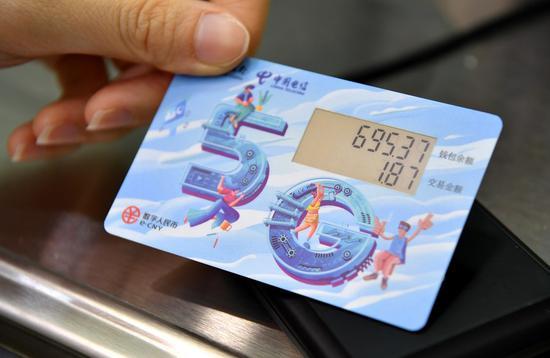 Digital yuan debuts in futures transaction