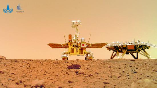 China's Mars rover travels over 509 meters on red planet
