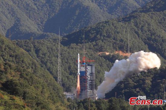 China launches new remote-sensing satellites