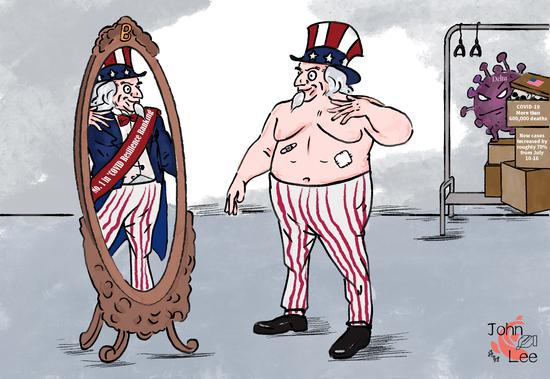 Comicomment: U.S. No. 1 in 'COVID Resilience Ranking' a new edition of 'Emperor's New Clothes'